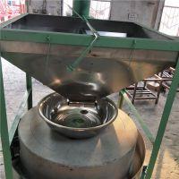 供应 铼申80型全自动石磨面粉机 小麦电动石磨生产线