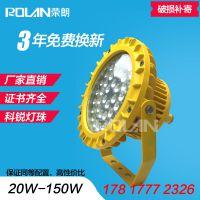 XHD610防爆泛光灯,喷涂车间100W防爆LED灯