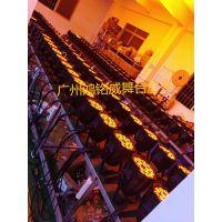 鸿铭威舞台灯光厂家直销,18颗五合一不防水LED染色帕灯