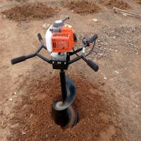 植树地钻型号 多种直径钻头挖坑机 新疆挖坑机