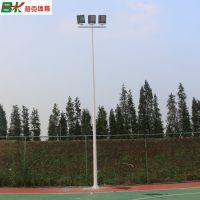 三亚定做篮球场灯杆工厂 球场双头200W-LED灯价格 篮球场软光灯有卖