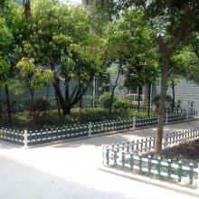安徽六安草坪护栏pvc塑钢花园围栏栅栏厂家 现货
