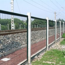 铁路封闭网 草绿色铁丝网 小区围网