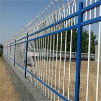 上海冀港现货供应热镀锌铁栅栏锌钢围墙护栏施工围栏小区阳台塑钢防护栏 庭院栏杆