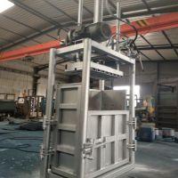 澜海制造 纸皮压缩机废料打包机 加厚钢板废铁压块打包机