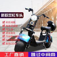闪速哈雷电动车X5款前后减震哈雷车电动滑板车成人代步车带转向