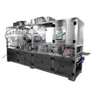 自动灌装封口机|食品包装机械|灌装封口机设备,豆浆生产线设备,包装机械设备