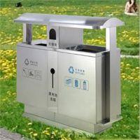 沧州志鹏供应街道果皮箱 环保户外分类垃圾箱 不锈钢户外垃圾桶专业厂家批发