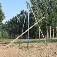 优质立杆机生产厂家 【刻发】铝合金三角架 整体分体扒杆抱杆 立杆工具