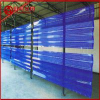 郑州蓝色圆孔防尘网哪里有卖 新疆料场挡风墙厂家供货