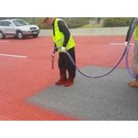 彩色路面材料 彩色路面喷涂价格 环保景观道造价