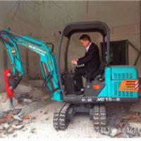 路邦机械挖掘机厂家 2.2吨小型履带挖掘机