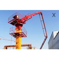 33米楼板顶升式液压布料机 青岛科尼乐集团