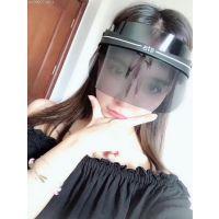 SIS透明镜面防晒遮阳帽