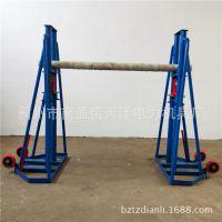 高压电缆用放线支架 电缆放线架 卧式电缆防线架 多孔液压放线架