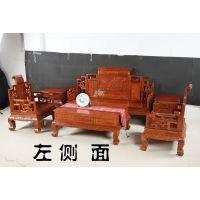 勐狮红木东非酸枝红木沙发六件套厂家直销