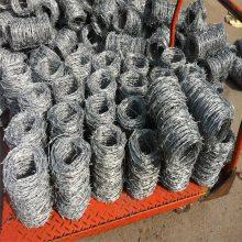 刺绳刺丝 优质刺绳厂家 铁蒺藜做法
