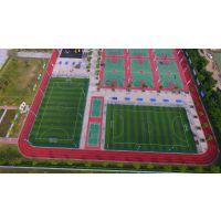 浙江学校球场 户外运动场地灯杆 15米一拖六金卤灯配置
