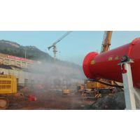 贵州工厂喷雾机除尘,人造喷雾降尘设备,大型工厂,锦胜雾森车间建筑工地降尘神器
