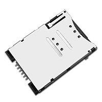 东莞 SOFNG SIM-018 尺寸:26.85mm*19.2mm*1.85mm SIM卡连接器
