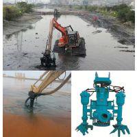 液压吸浆泵_排浆工程挖机沙浆泵_液压抽泥泵