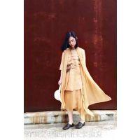 供应北京棉麻女装品牌容子木折扣女装尾货批发