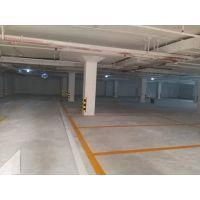 广州停车场划线 地下停车场标线 停车位划线
