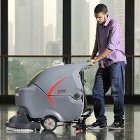 武汉高美GM50B手推电瓶式洗地机全自动洗地机