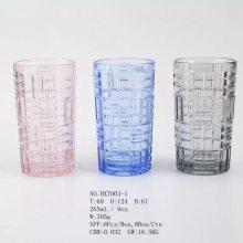 兔子玻璃水杯logo创意水杯 400ml迷你随手杯学生水杯