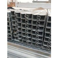 50*90镀锌P形钢管厂家 18722109971