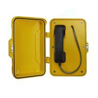地下空间防水防潮电话机,壁挂式防水防尘电话机,无按键免拨号防水电话机