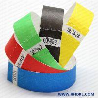 厂家供应杜邦纸手腕带医用腕带 门票身份识别腕带超高频腕带
