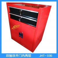 厂家生产陵县工具柜双开门 多功能储物柜 加大手柄 稳固安全