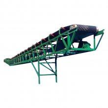六九重工 厂销 嘉兴 轻型辊筒皮带传送机 人字防滑型沙子矿石粉输送机 带式输送机