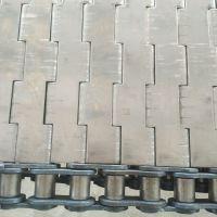 卓远厂家定做输送机链板 不锈钢链板 速冻机链板经久耐用