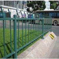 市政护栏厂家 定做1.2米高道路围栏 绿色草坪护栏价格