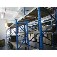 恒缘诚惠州货架厂200KG蓝色4层中型货架批发价格优惠规格齐全质量好