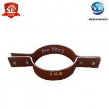 A7-1型保温管用管夹 三孔螺纹管夹 D2型碳钢管夹