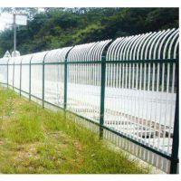 德邦供应大庆防盗型热镀锌围栏 锌钢围栏 小区围墙施工栏杆