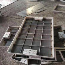 金裕 批量生产 道路铺装方形井盖 不锈钢隐形井盖 厂家定制