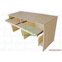 双人翻转电脑桌 1.4米1.6米1.8米 翻转台式办公桌 环保免漆简约现代