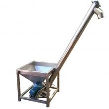 汇众白糖食盐蛟龙提升机 不锈钢螺旋上料机 管式装罐给料机