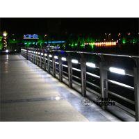 不锈钢景观灯光隔离栏定制