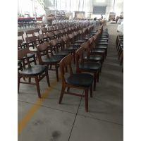 浙江杭州餐厅C-90桌子椅子,简约现代酒楼餐厅软包椅子