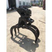广西新源挖机多功能夹木器广西远山轮挖夹木器多少钱