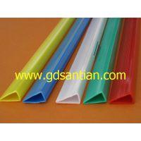 田正三大厂家直销塑料抽杆条塑胶拉杆条 书本装订PVC彩色夹条