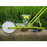 小型四轮萝卜白菜播种机 润众 汽油手推式花卉药材精播机