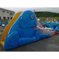 广州润乐水上设备-大象滑梯
