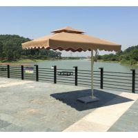 厂家现货供应户外豪华铝合金单边伞,休闲庭院沙滩伞,单边太阳伞