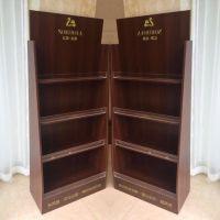 房地产专用木质杂志架饰面板宣传册陈列展架厂家直销